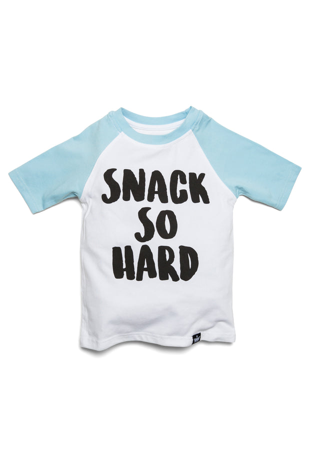 Snack So Hard Raglan