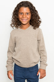 Ultra Soft V-Neck Sweatshirt