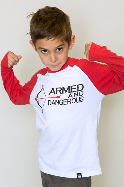 Armed & Dangerous Raglan