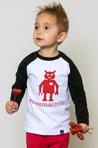 Love Machine Raglan
