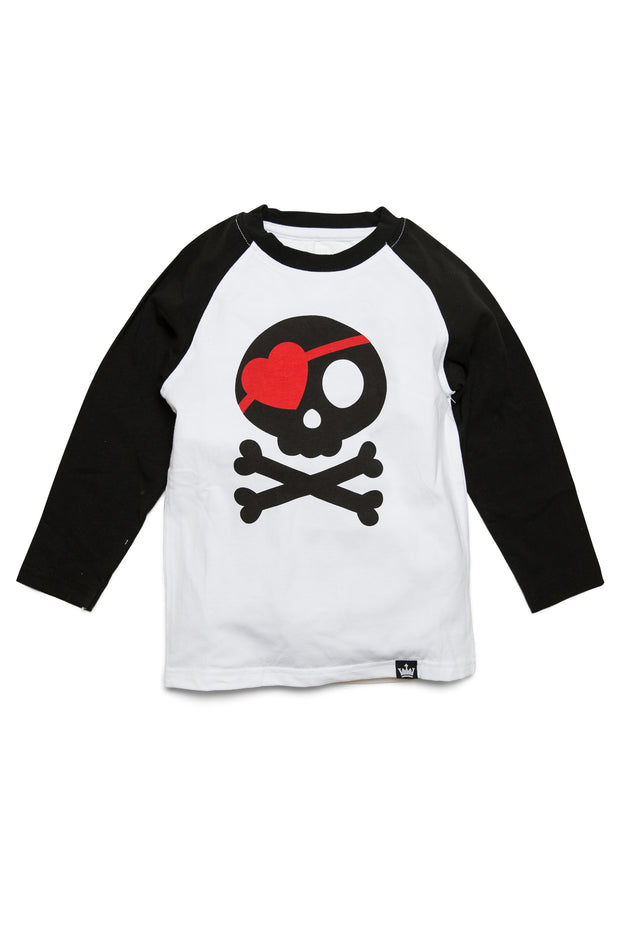 Pirate Valentine Raglan
