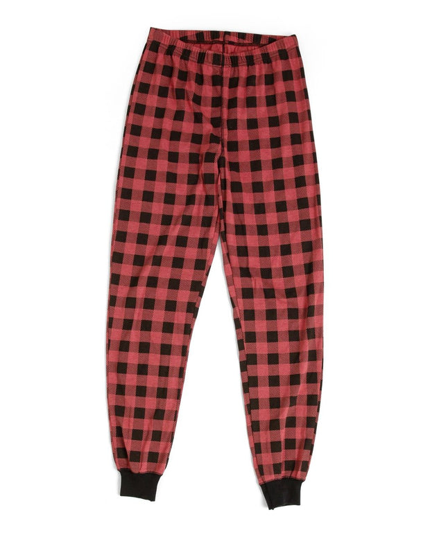 Red Buffalo Check Women's Pajama Set (Style A)