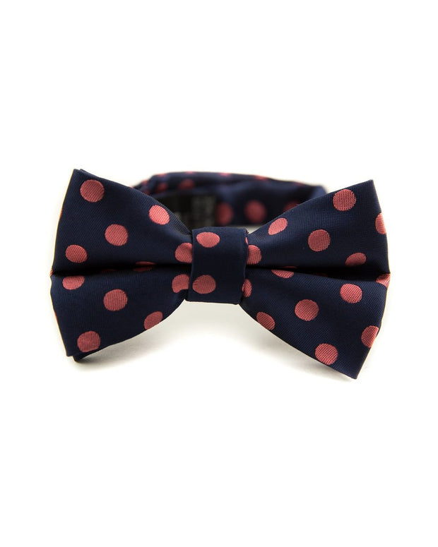 Indigo and Rose Dot Bow Tie (Boys and Men)
