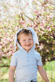Baby Blue Bunny Hoodie Shirt