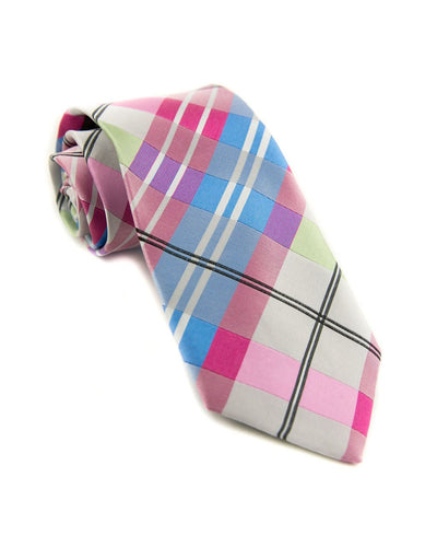 Taffy Plaid Standard Necktie (Adult and Youth)