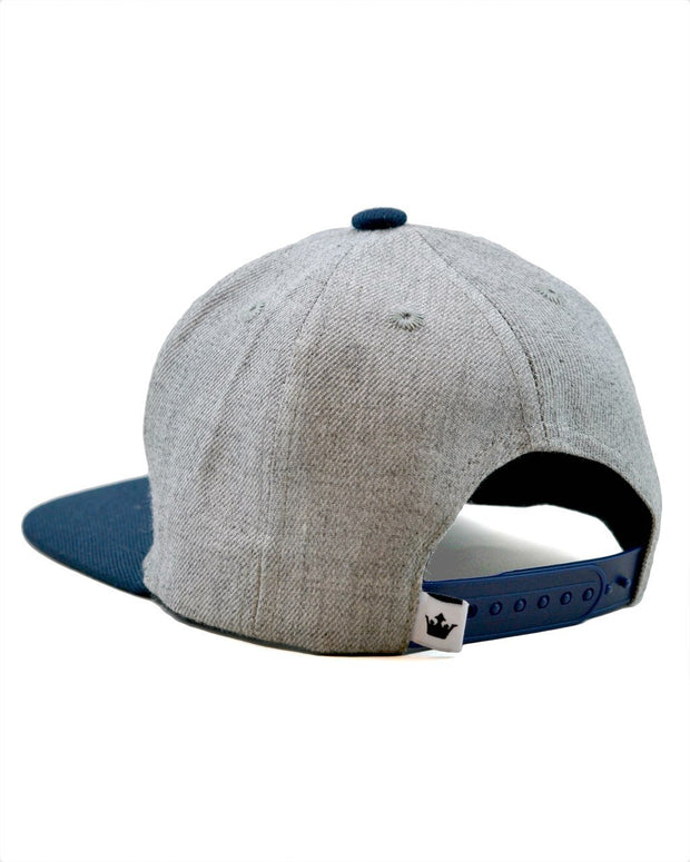 Best Kid Ever Snapback Hat in Gray