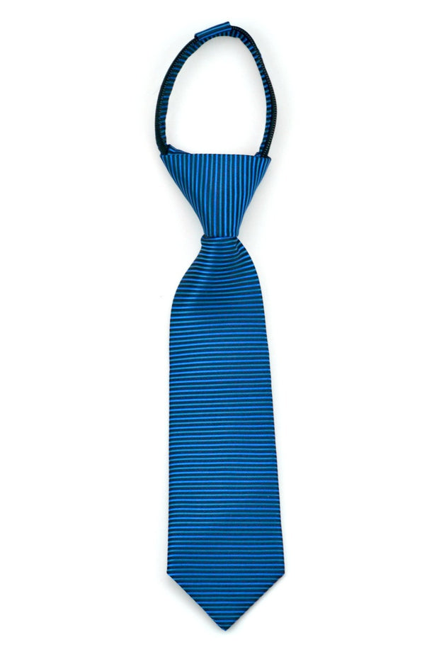 Black and Blue Mini Stripe Tie