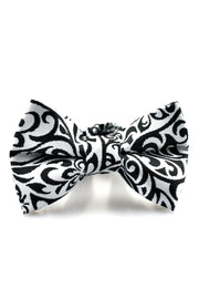 Black and White Tribal Tie