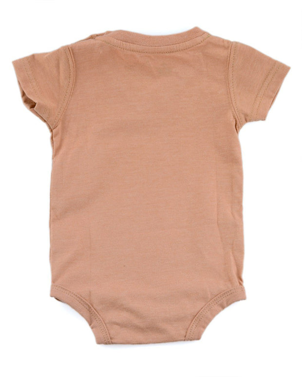 Camel V-Neck Bodysuit