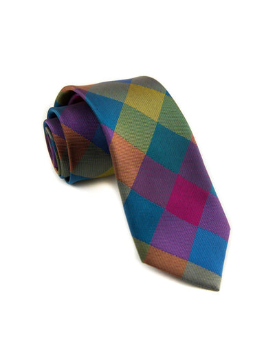 Prism Check Standard Necktie (Adult and Youth)