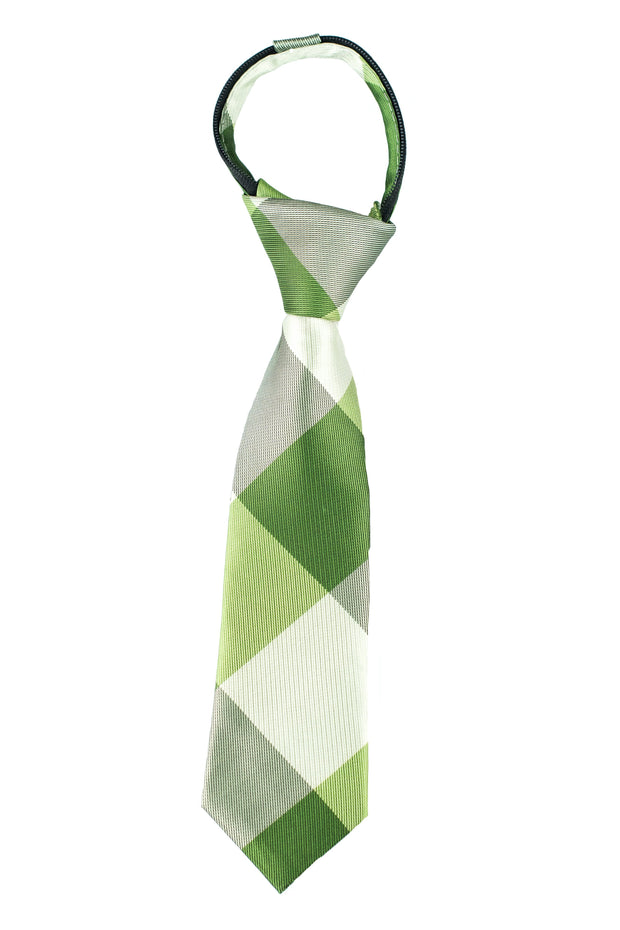 Evergreen Check Tie