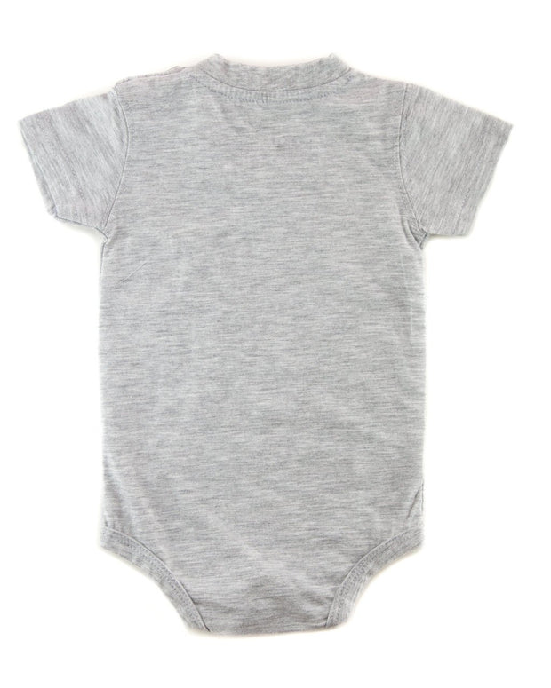 Gray Aviator Bodysuit