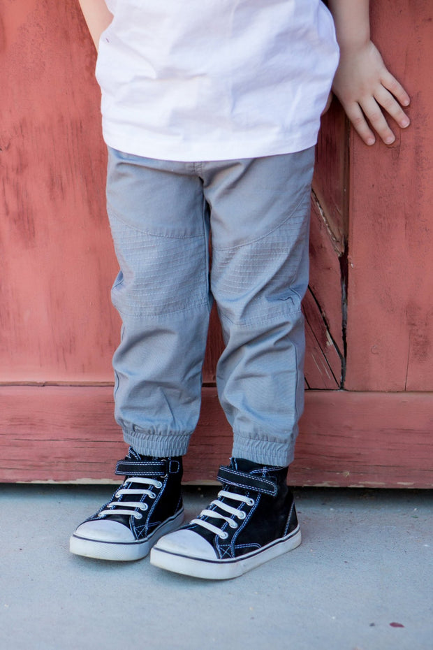 Canvas Moto Pants