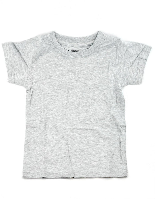 Gray Crew Neck Shirt