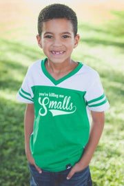 You're Killing Me Smalls Green Jersey Tee