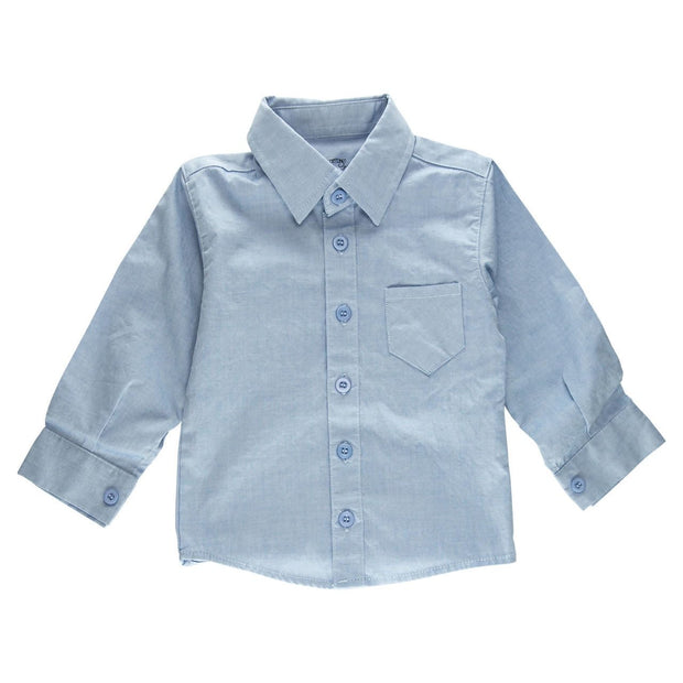Light Blue Long Sleeve Dress Shirt