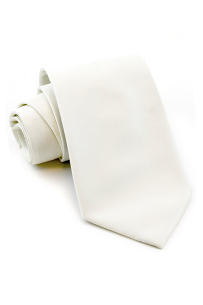 Ivory Solid Tie
