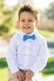 Tropical Punch Stripe Bow Tie (Boys and Men)