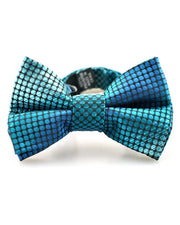 Shark Fin Stripe Bow Tie (Boys and Men)