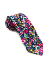 Watercolor Floral Standard Necktie (Adult and Youth)