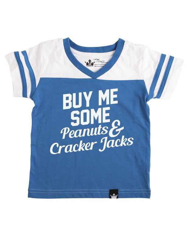 Buy Me Some Peanuts Blue Jersey Tee