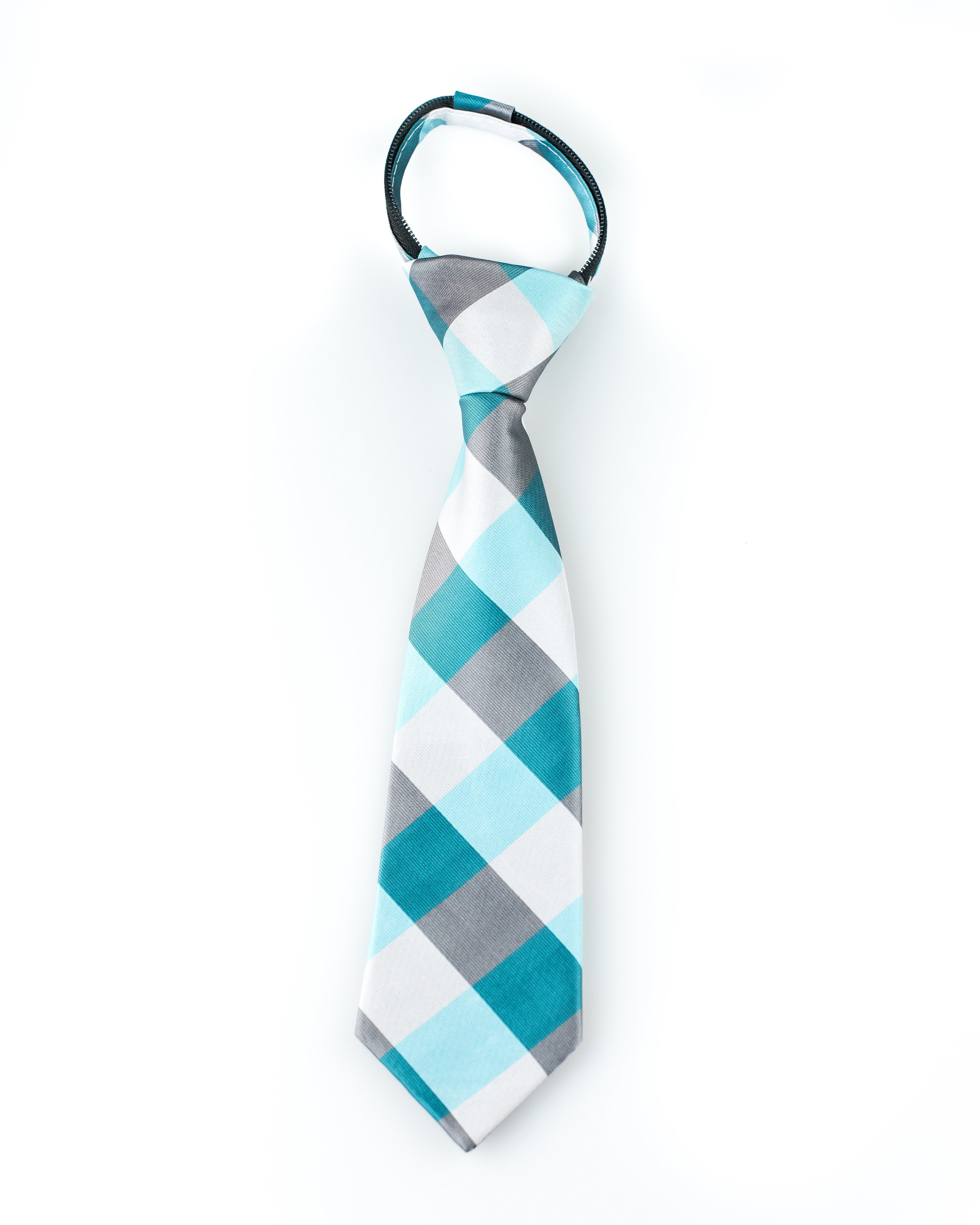 turquoise-and-silver-check-zipper-tie.jpg
