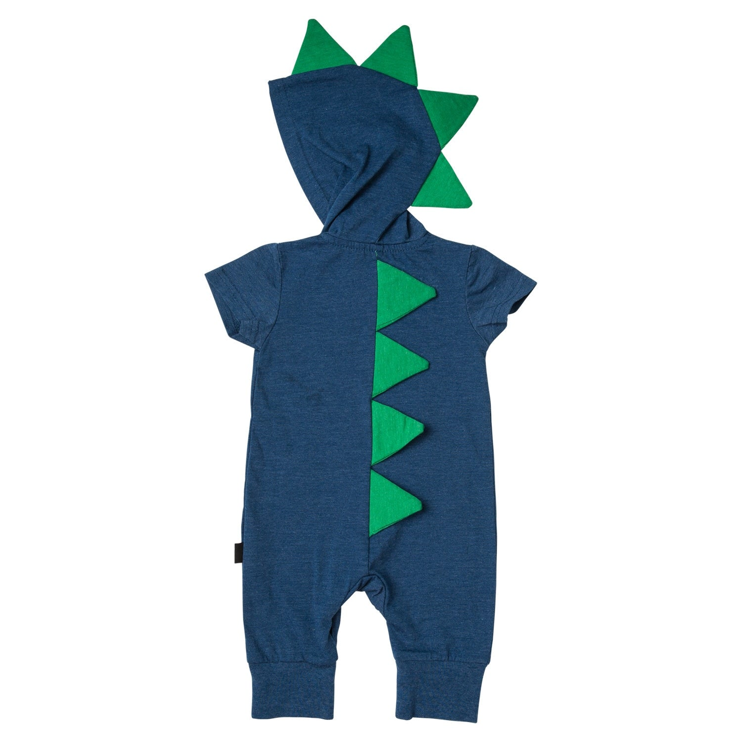 ssdinor-nvy-navy-green-short-sleeve-dino-hoodie-romper-back.jpg