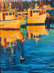 """Late Afternoon on Shem Creek """