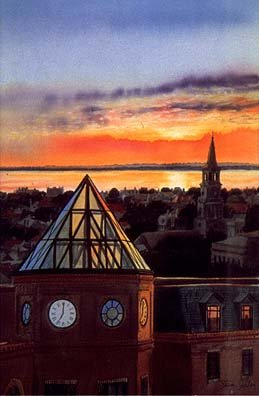 Sunrise Over Charleston