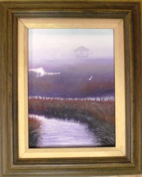 Fog on the Marsh..SOLD