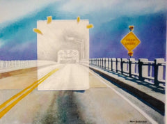 """ Draw Bridge"" , 12 X 16"