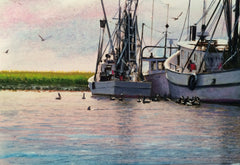 """Feeding Time, Shem Creek """