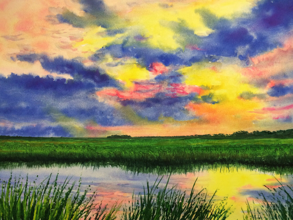 """Low country Sunrise """
