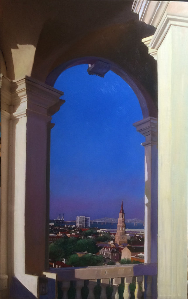 """Steeple View,1982"""