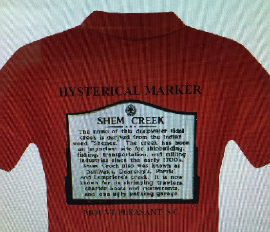 Shem Creek tee shirt