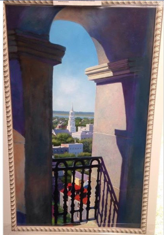 "# 5 - ""View From St. Phillips Church , Charleston"""