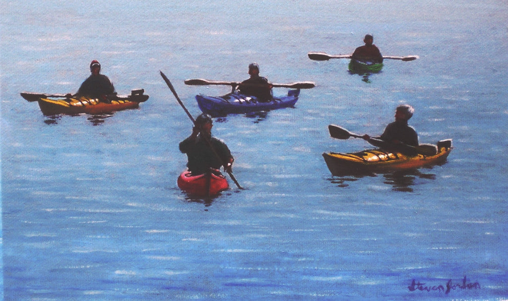 """5 Kayakers"" SOLD"