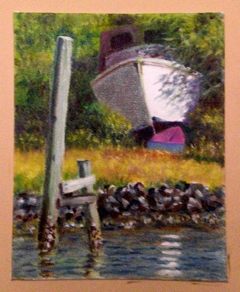 """ Dry Docked on Shem Creek"" sold"