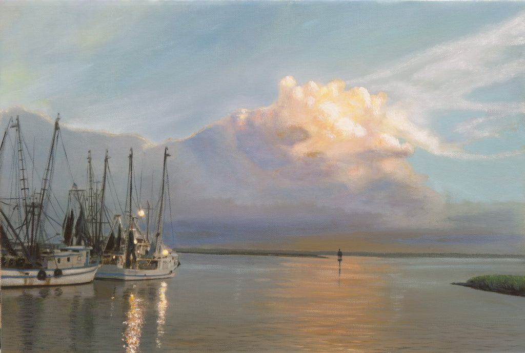 """Days End on Shem Creek""SOLD"