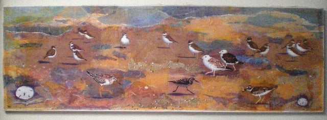 """Shore Birds"" SOLD"