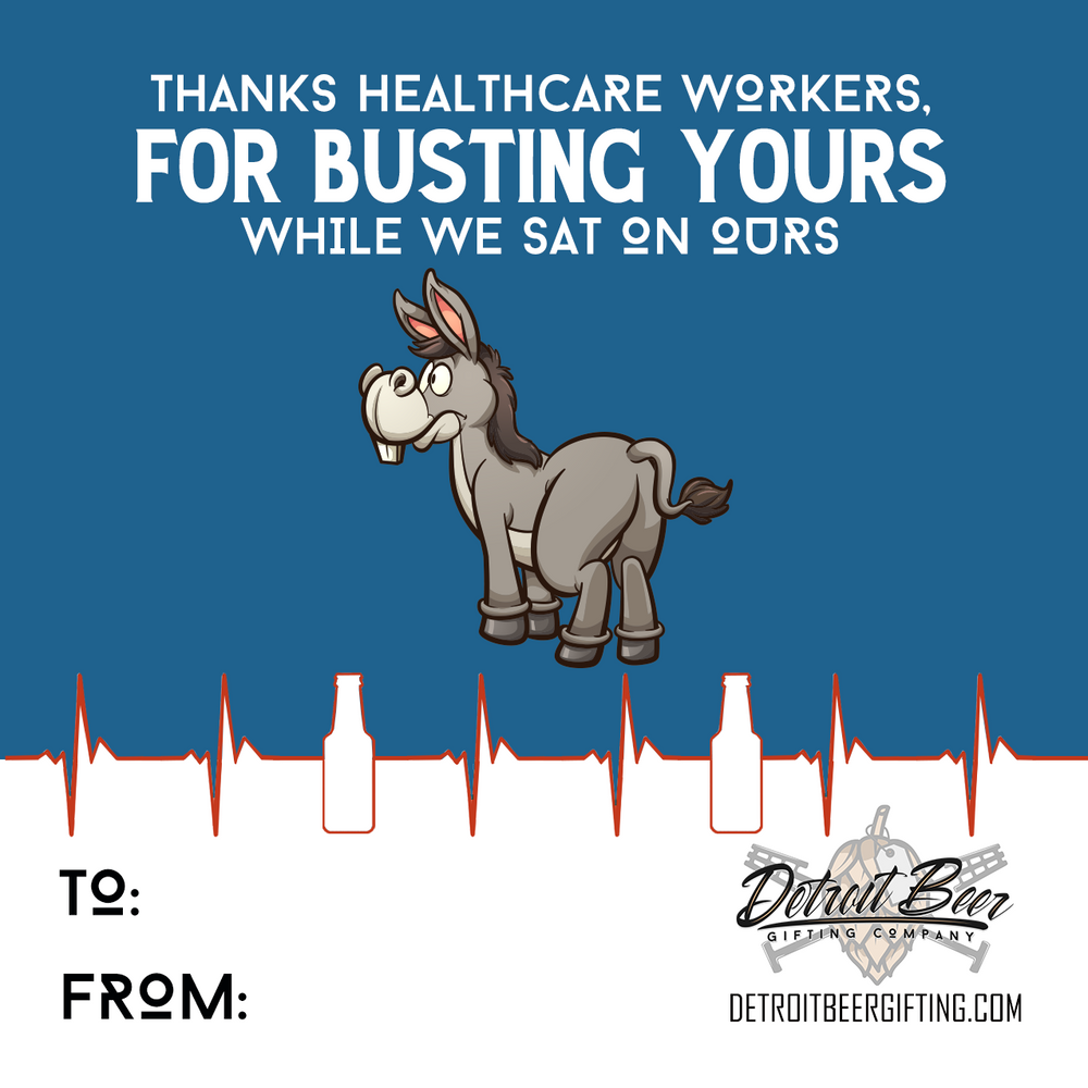 Healthcare Hero Thank You Sticker