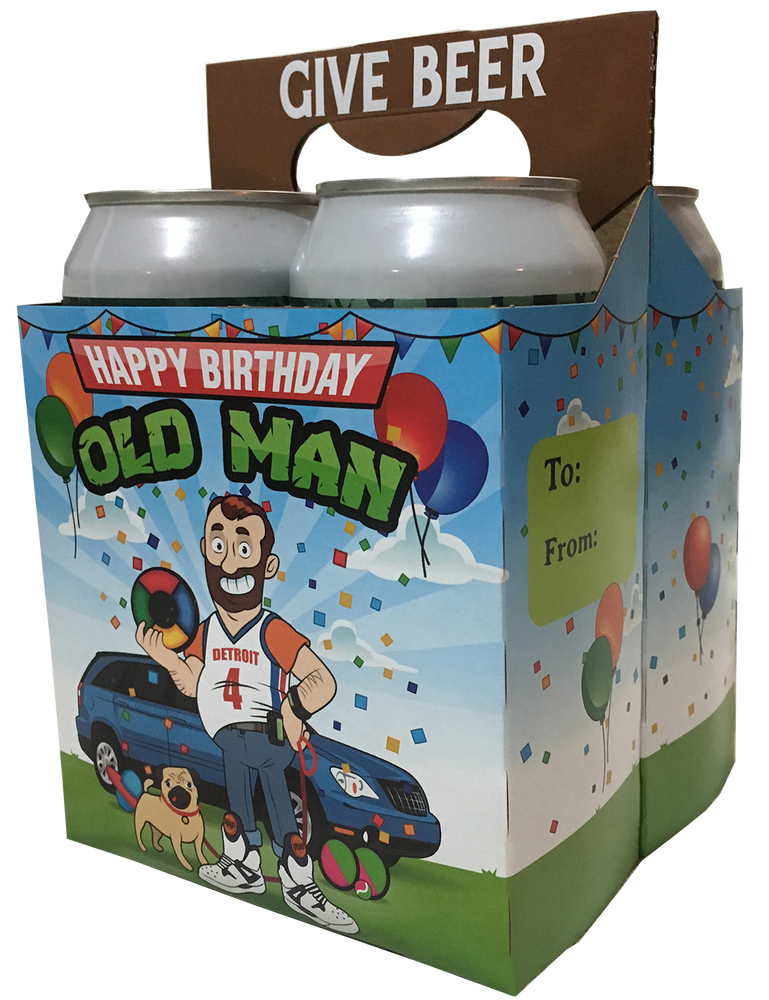 """Happy Birthday, Old Man"" Gift Pack"