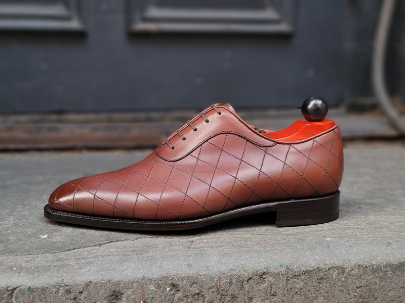 Spokane - MTO - Cedar Calf - LPB Last - Single Leather Sole