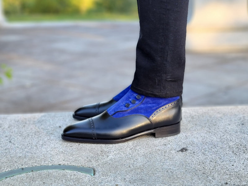 Blue Ridge - Black Calf / Vivid Blue Suede - PRE SALE DISCONTINUED