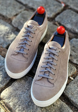 Olympia - Cloud Suede / White Sole - PRESALE