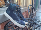 Richland - Navy Calf / Navy Suede / White Sole - PRESALE