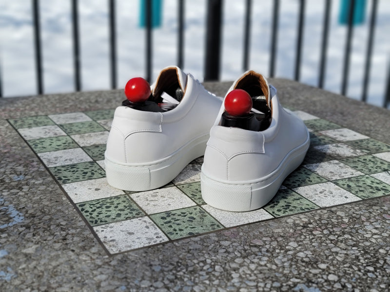 Olympia - White Calf / White Sole - PRESALE