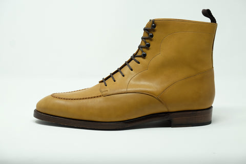 Bremerton - MTO - Unfinished Tan Calf - Double Leather Sole
