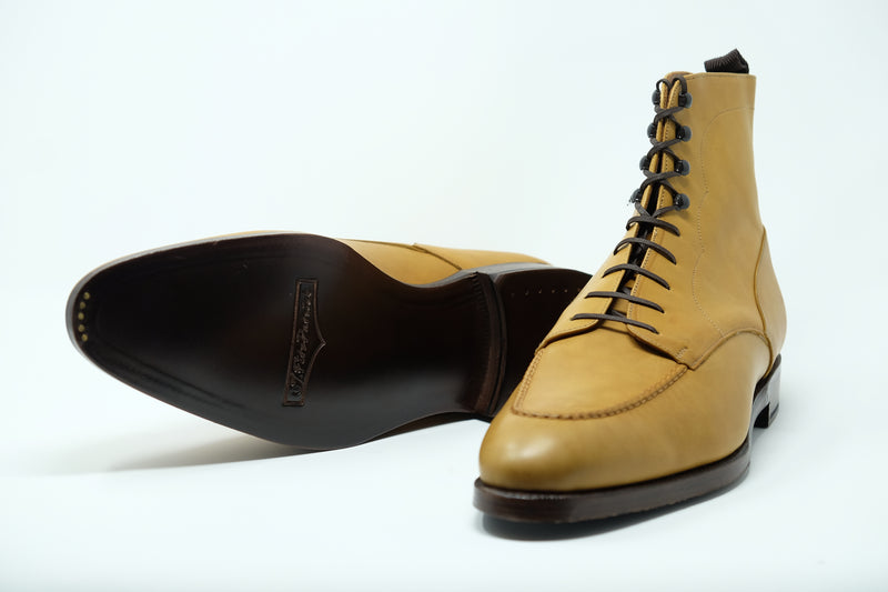 Bremerton - MTO - Unfinished Tan Calf - NGT Last - Double Leather Sole