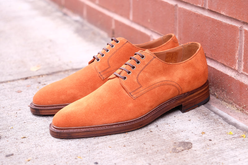 Baldwin - MTO - Cedar Suede - TMG Last - Double Leather Sole w/ 3/4 Stormwelt